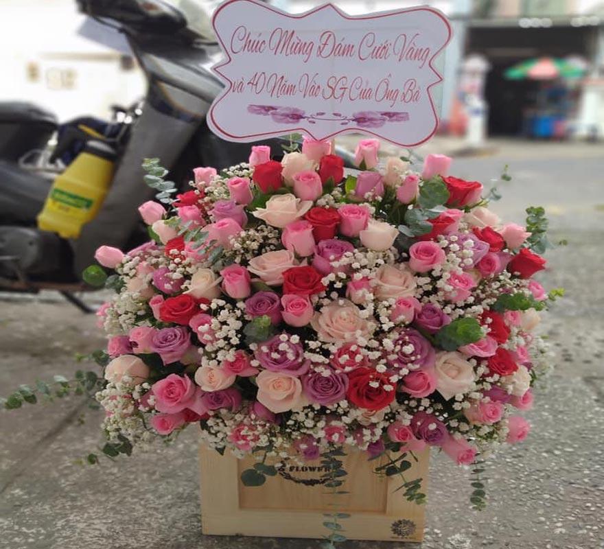 shop hoa tươi hồ thị kỷ 2019