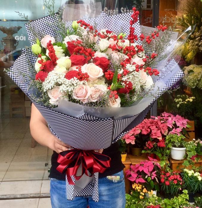 bó hoa tươi tại huyện ba vì