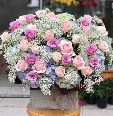 cửa hàng hoa tươi huyện ba vì