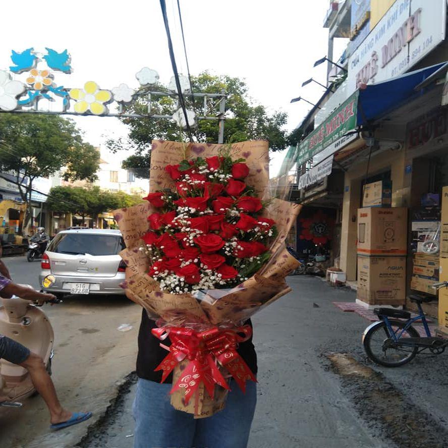 cửa hàng hoa tươi quảng bình