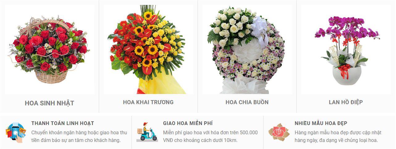 đặt hoa online tại phú thọ 2020