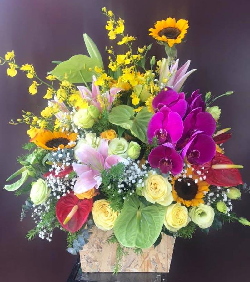 đặt hoa tươi online tại điên biên