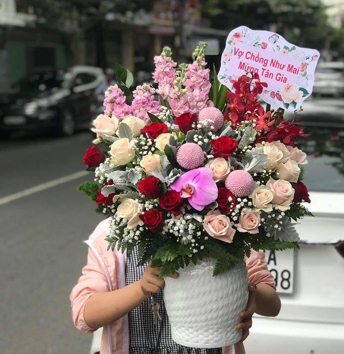 dịch vụ hoa tươi huyện thanh oai
