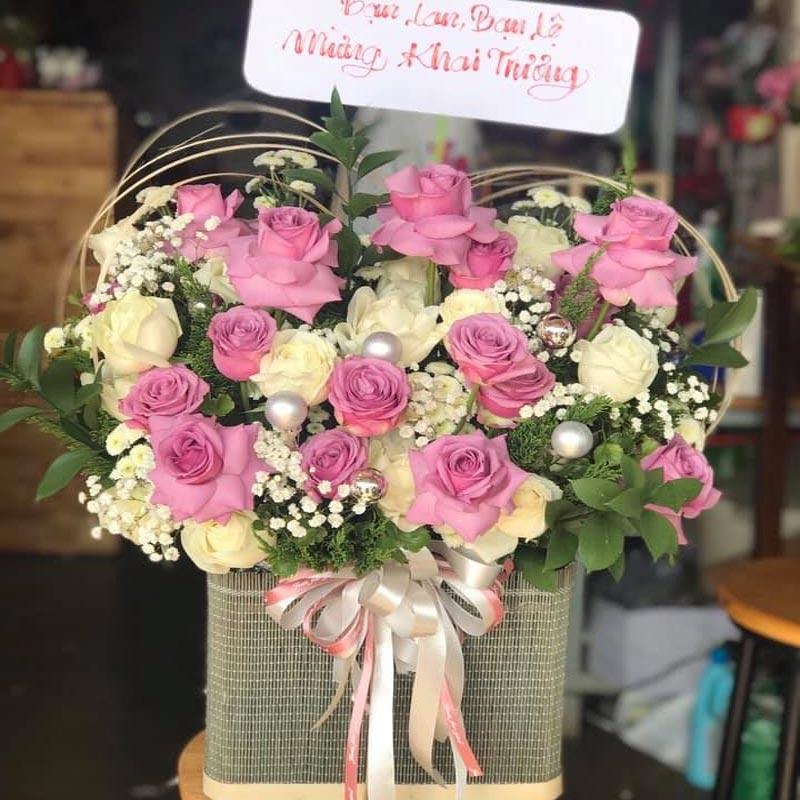 điện hoa online tại long an
