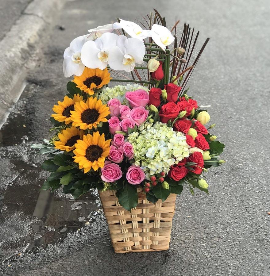 giao hoa nhanh siêu tốc tại đường hoàng diệu quận 4