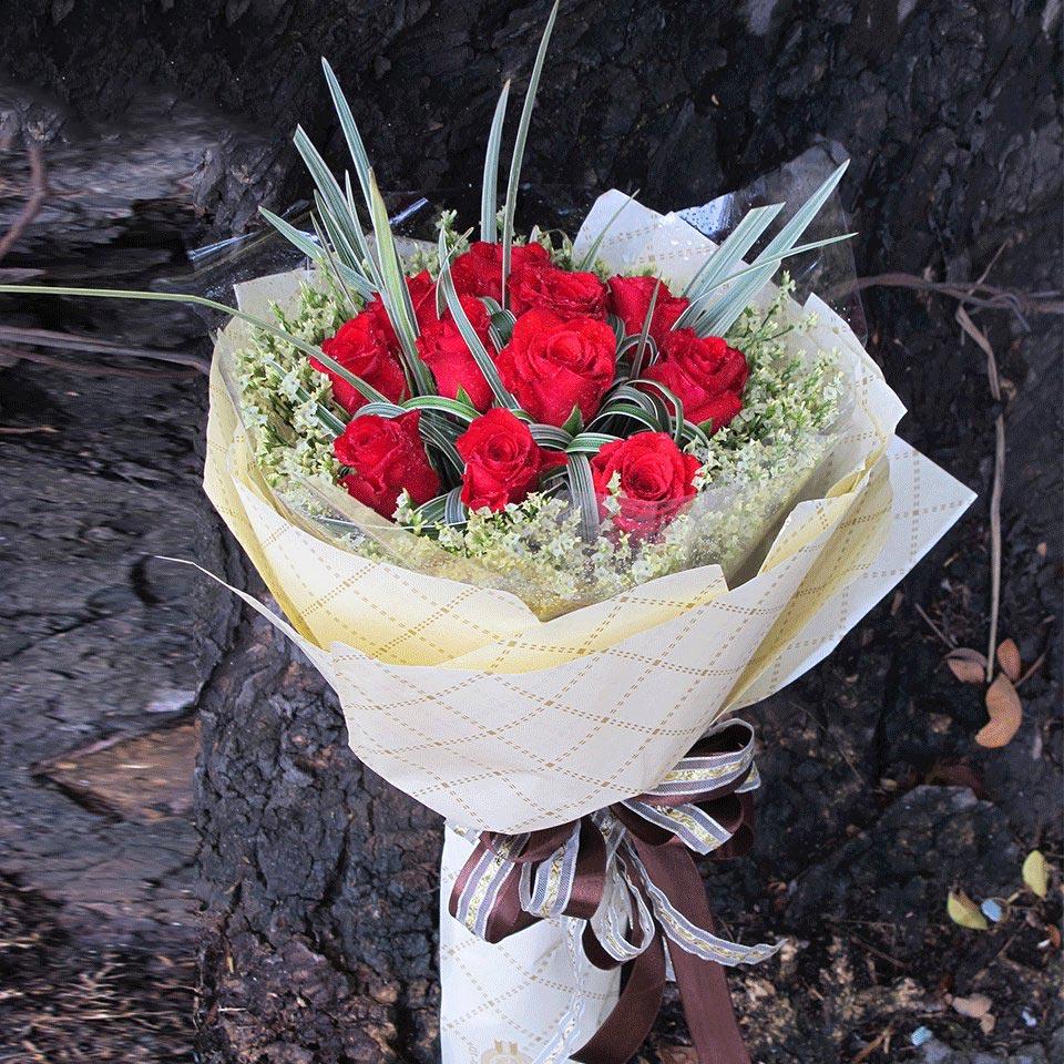 hoa hồng valentine đẹp 2019