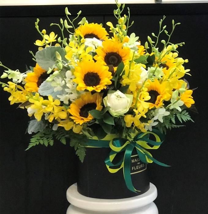 hoa sinh nhật huyện thanh trì 2020