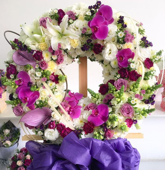 hoa viếng tang lễ tại huyện thanh oai