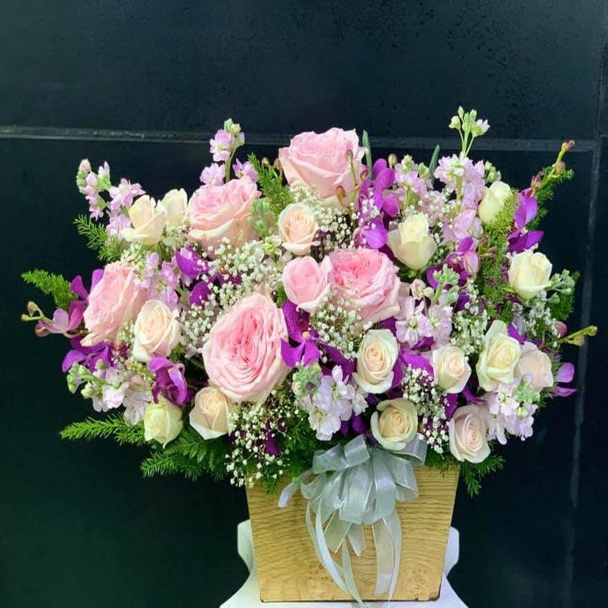 hộp hoa tươi đẹp tại nguyễn thị thập quận 7