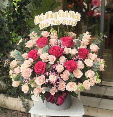 hộp hoa tươi huyện gia lâm