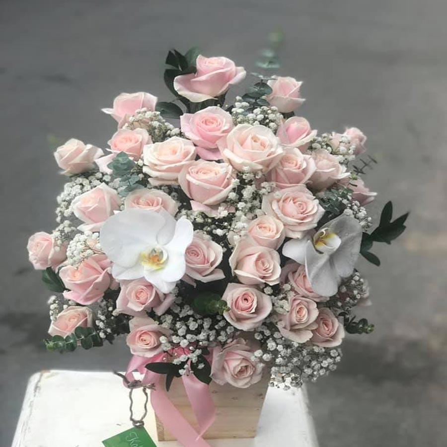 shop hoa tươi đẹp vĩnh long