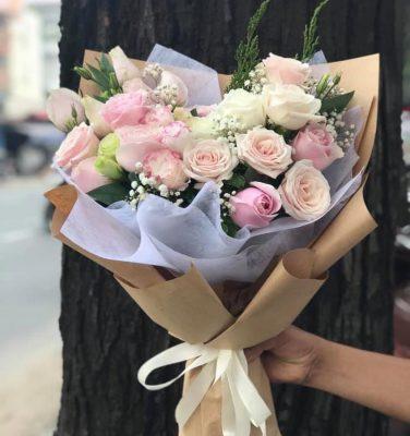 Shop hoa tươi hòa bình