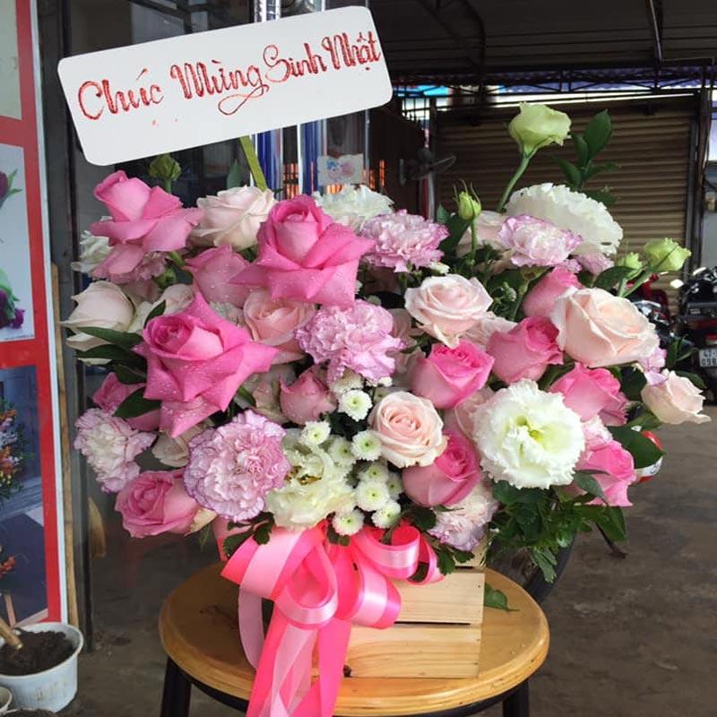 Shop hoa tươi ở long an