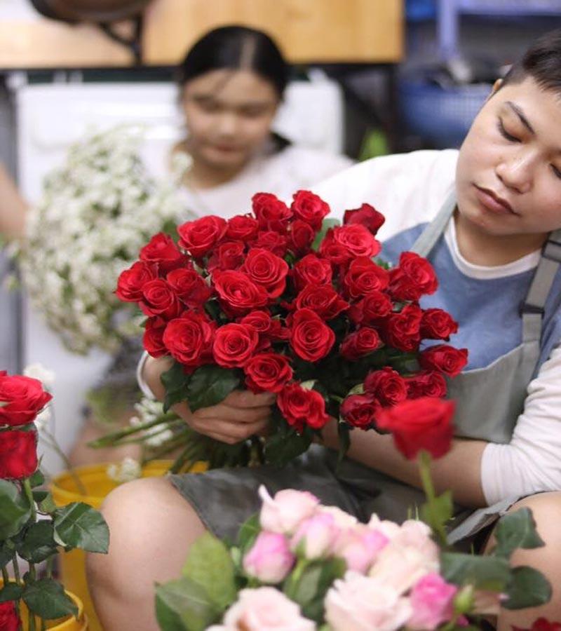 tiệm hoa tươi cà mau