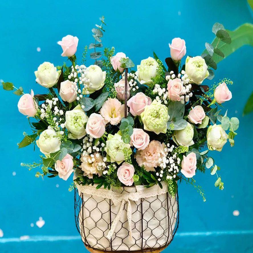 tiệm hoa tươi tại nhà trang