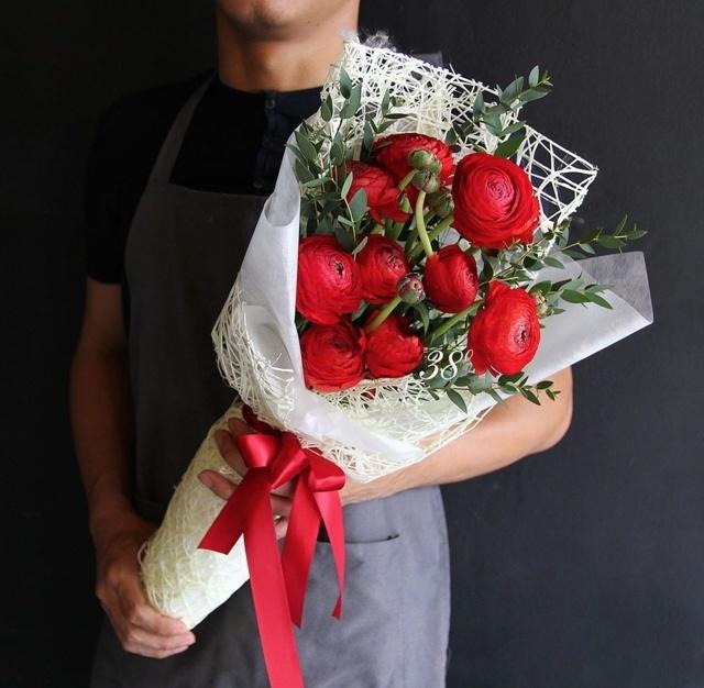 hoa mao lương hồng - đỏ 5