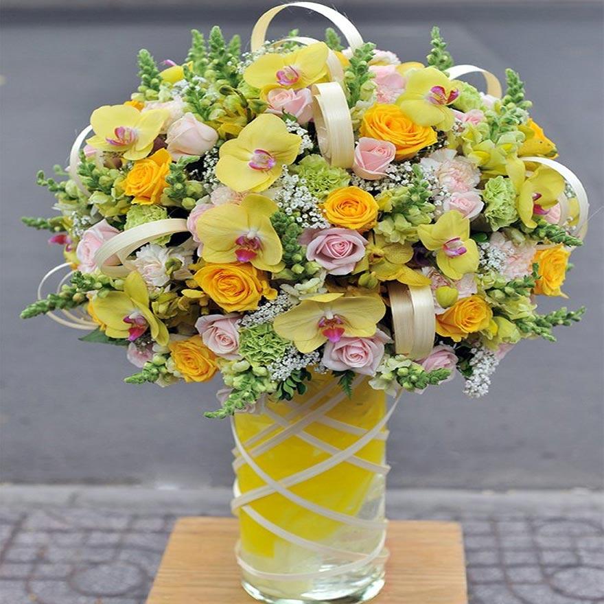 bình hoa tươi đẹp tại quận thủ đức