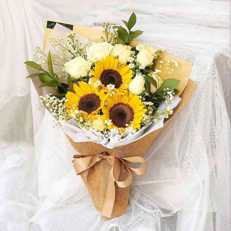bó hoa hướng dương đẹp 1
