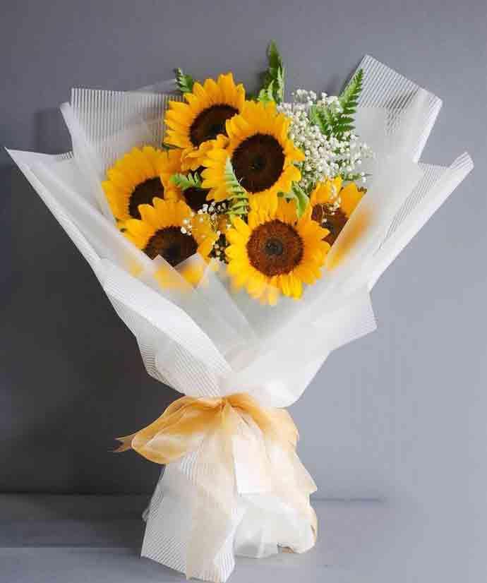 bó hoa hướng dương đẹp 2