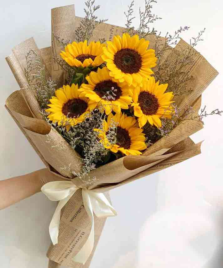 bó hoa hướng dương đẹp 3