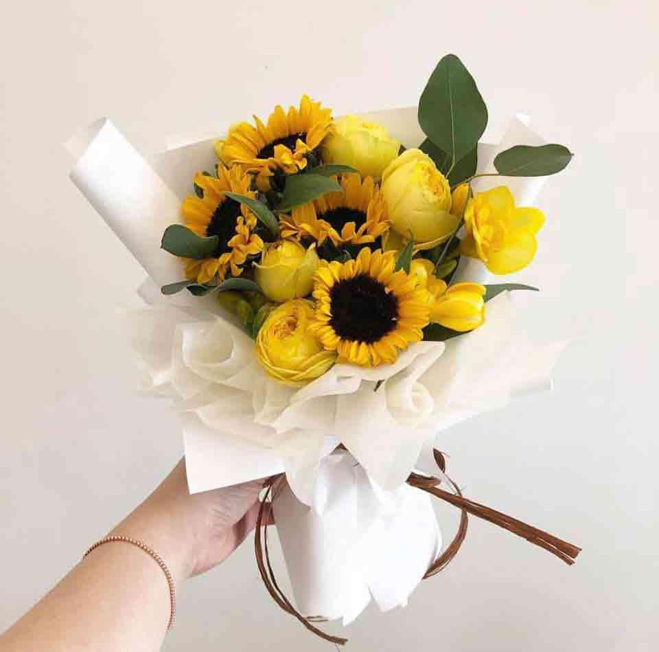 bó hoa hướng dương đẹp 5