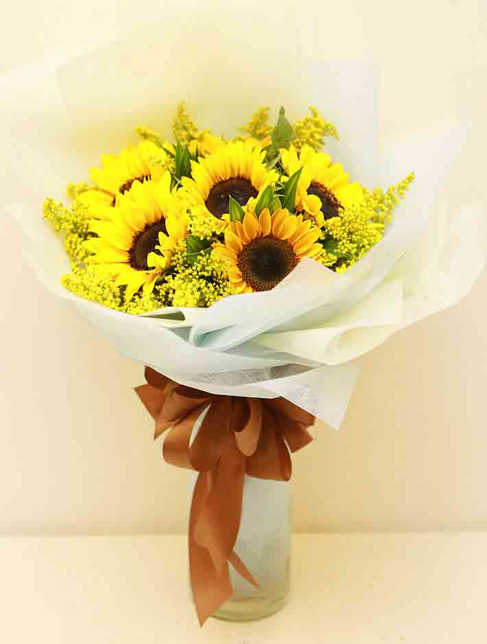 bó hoa hướng dương đẹp 8