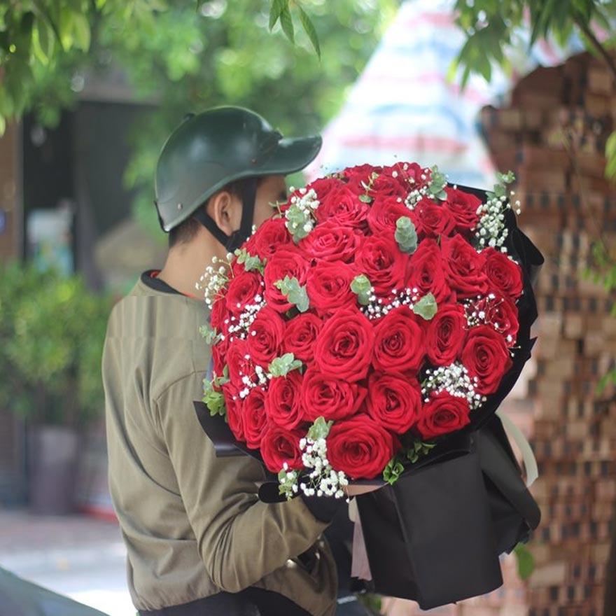 dịch vụ giao hoa tận nhà của shop hoa tươi quận gò vấp