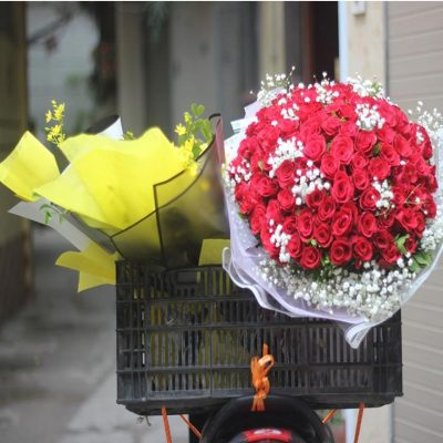 dịch vụ giao hoa tận nhà tại huyện củ chi