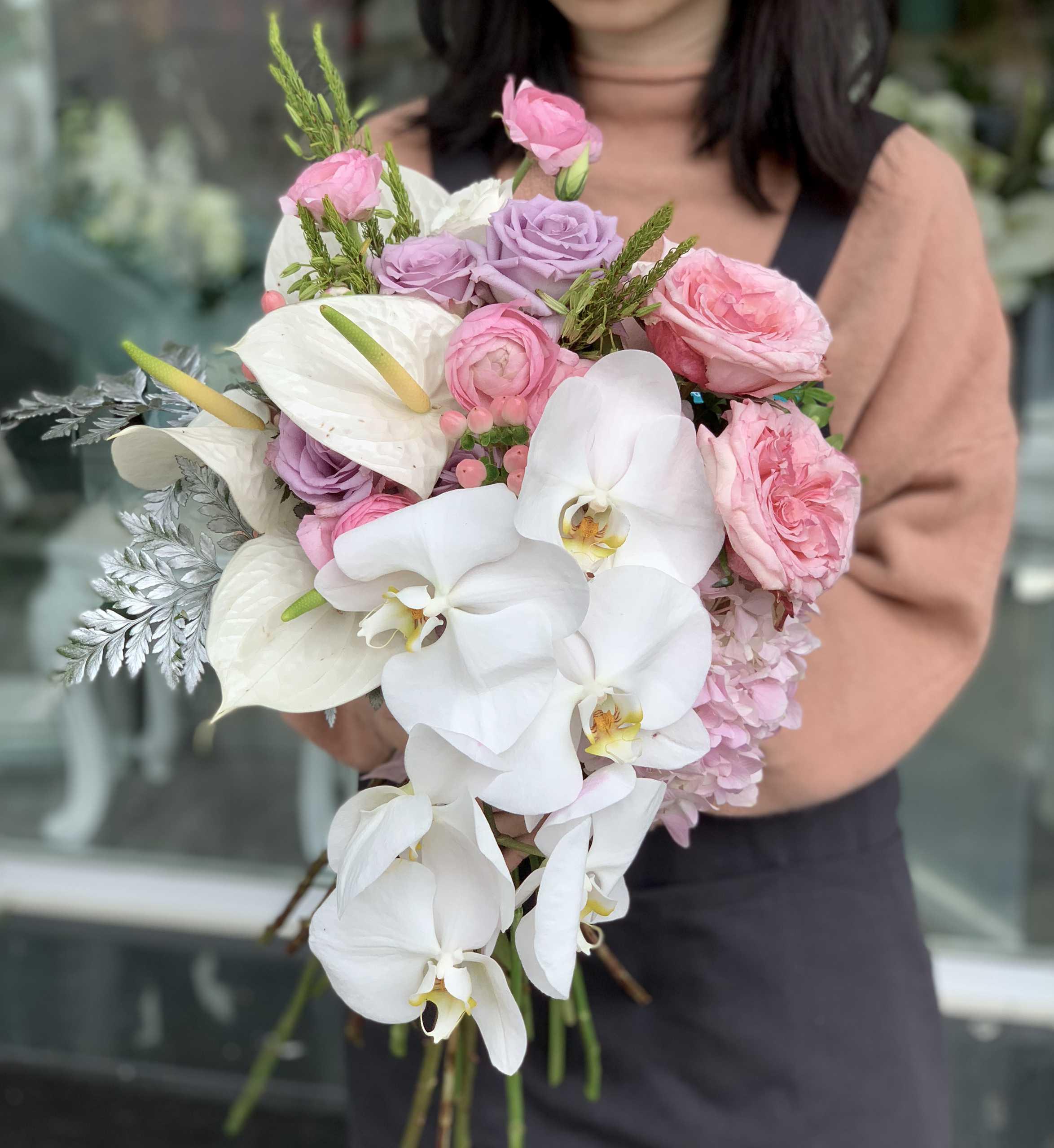 giá hoa cầm tay cô dâu 3