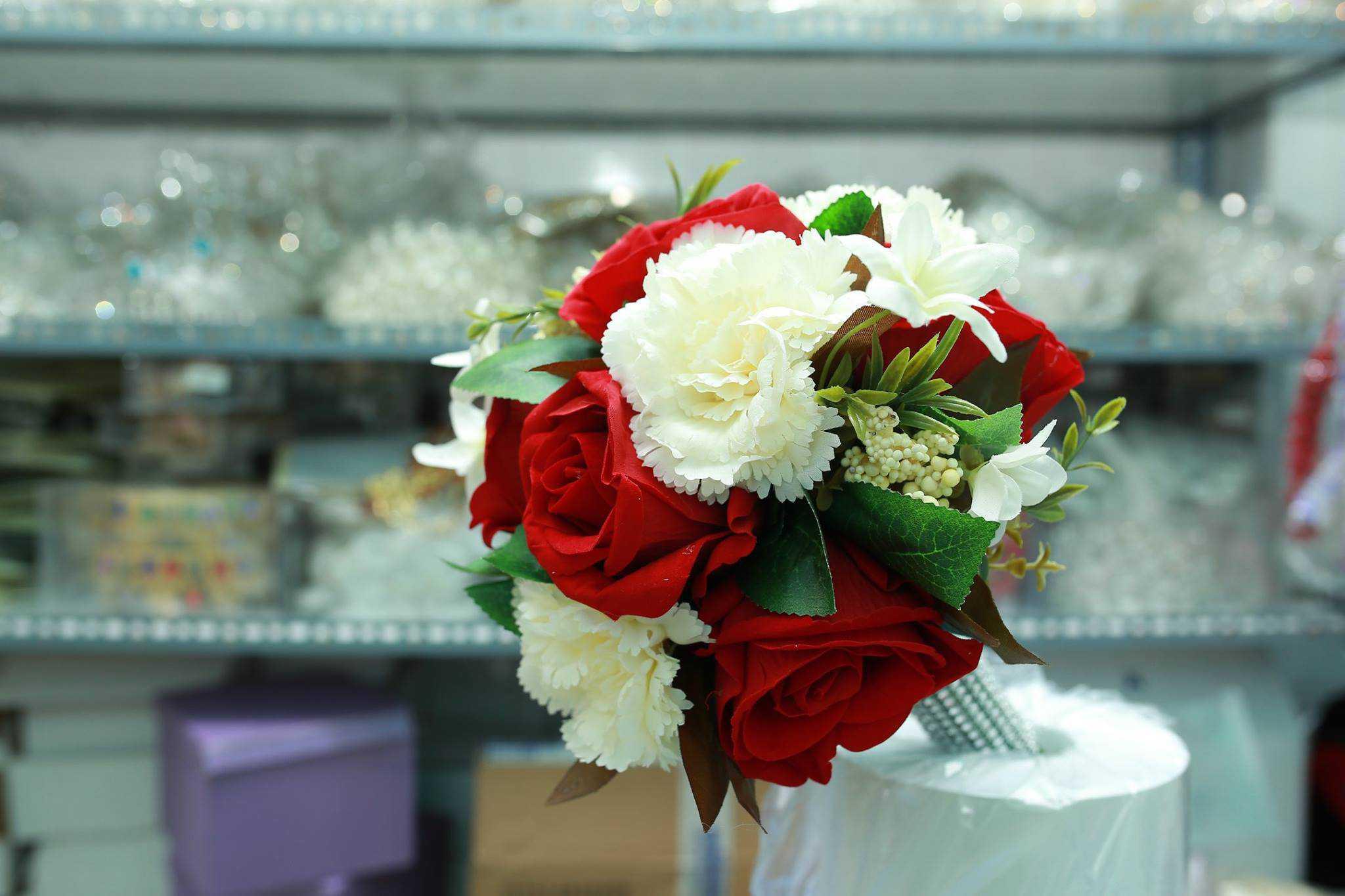 giá hoa cầm tay cô dâu 4