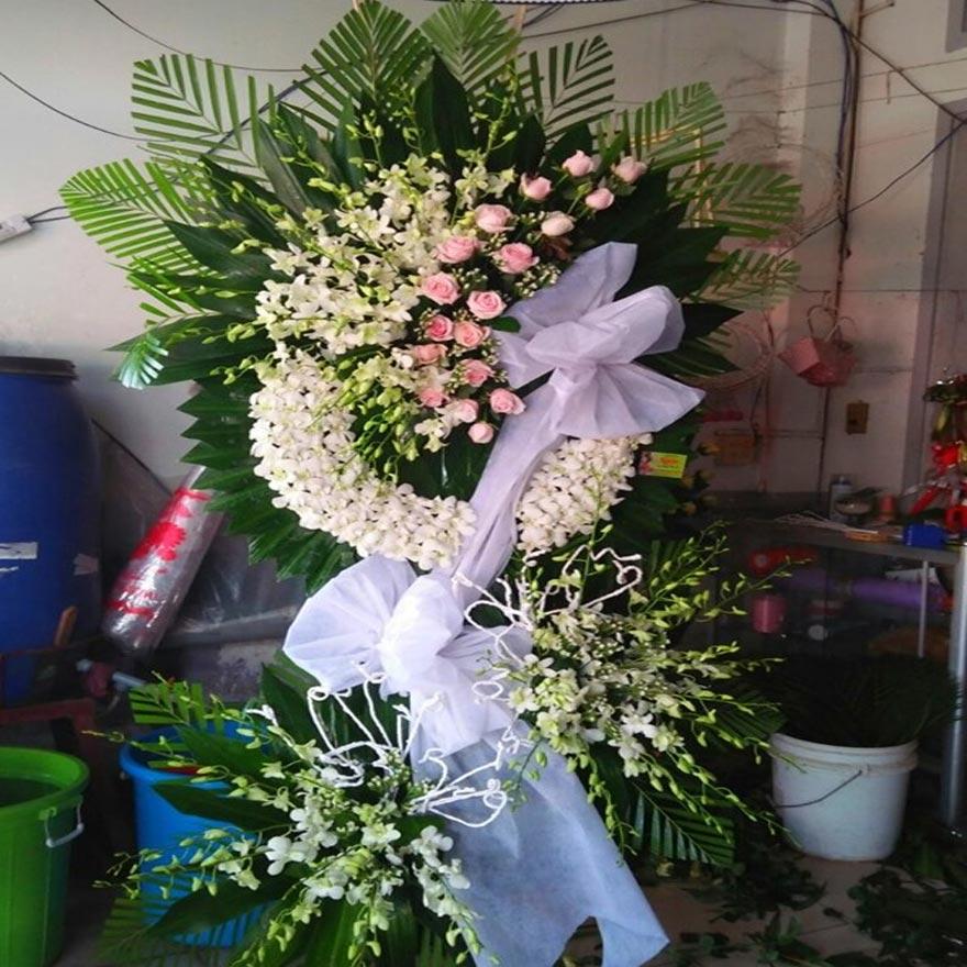 hoa chia buồn giá rẻ tại quận 2 tphcm