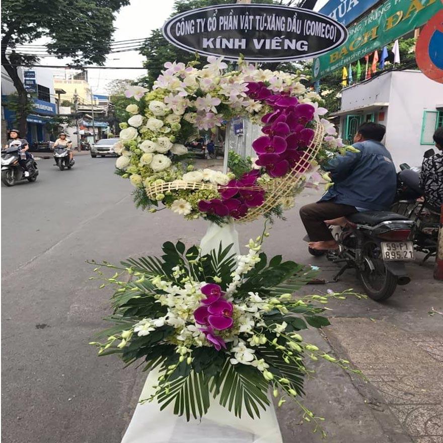 hoa đám tang đẹp tại quận 7
