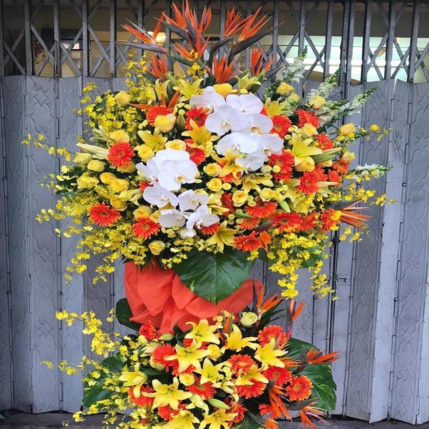hoa khai trương cao cấp tại hoa tươi văn nam quận 4