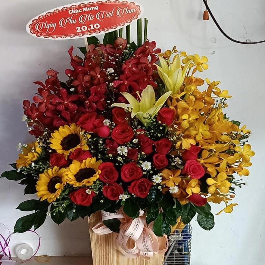 hoa sinh nhật đẹp giá tốt tại quận 5