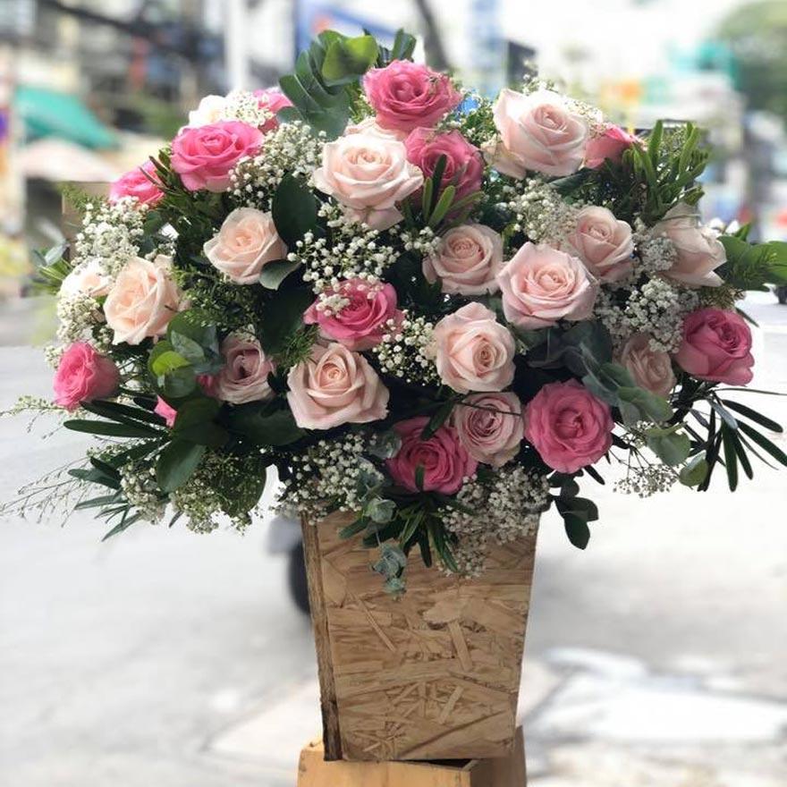 hoa sinh nhật đẹp tại quận 7