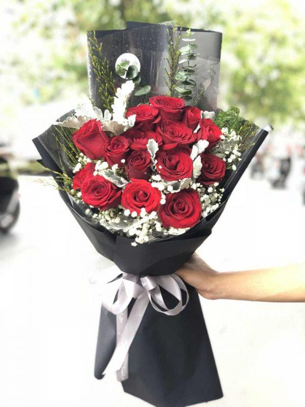 Hoa tặng valentine 2