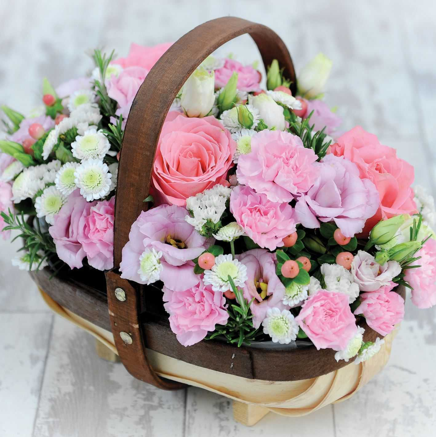 lẵng hoa sinh nhật đẹp nhất 1
