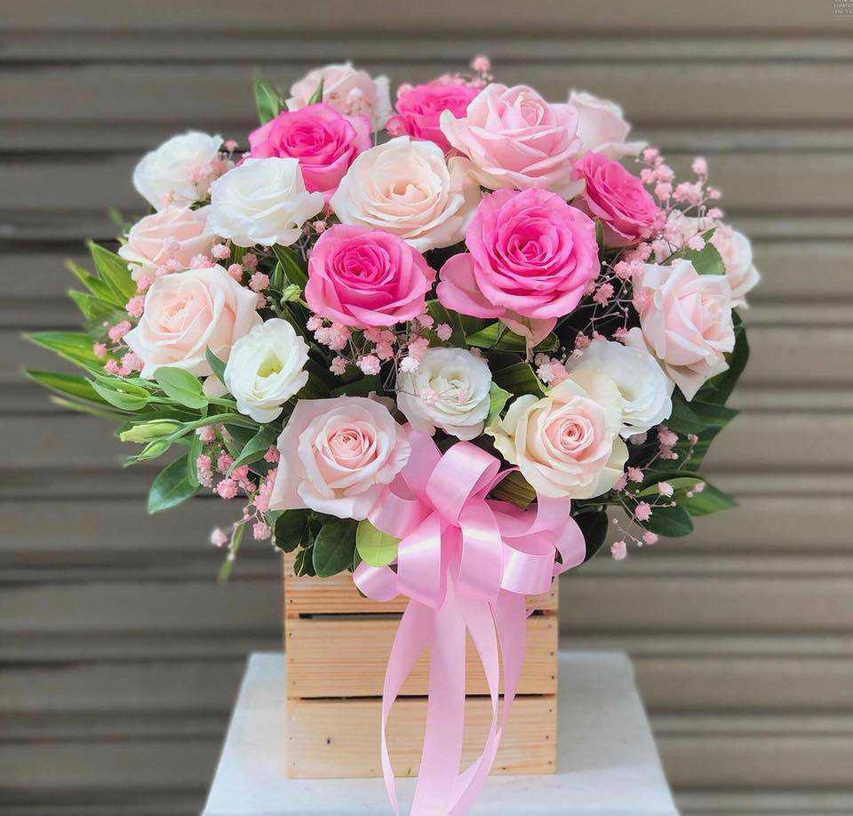 lẵng hoa sinh nhật đẹp nhất 5