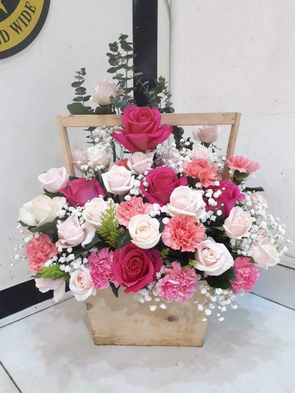 lẵng hoa sinh nhật đẹp nhất 7