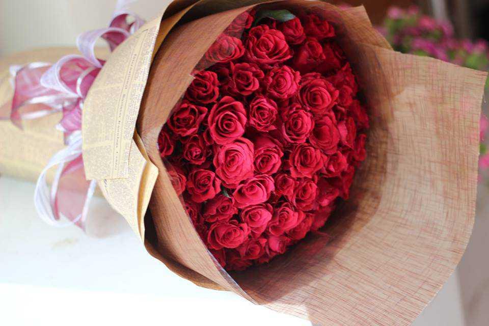 màu đỏ trong tình yêu