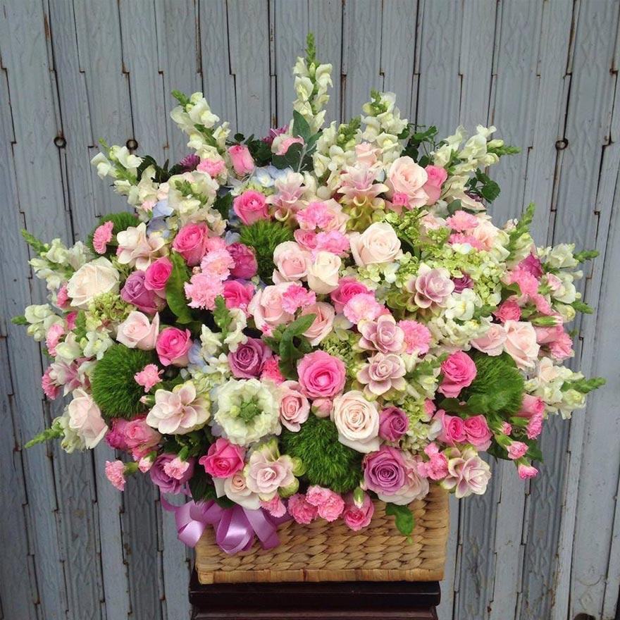 mẫu hoa sinh nhật đẹp tại shop hoa tươi quận 4