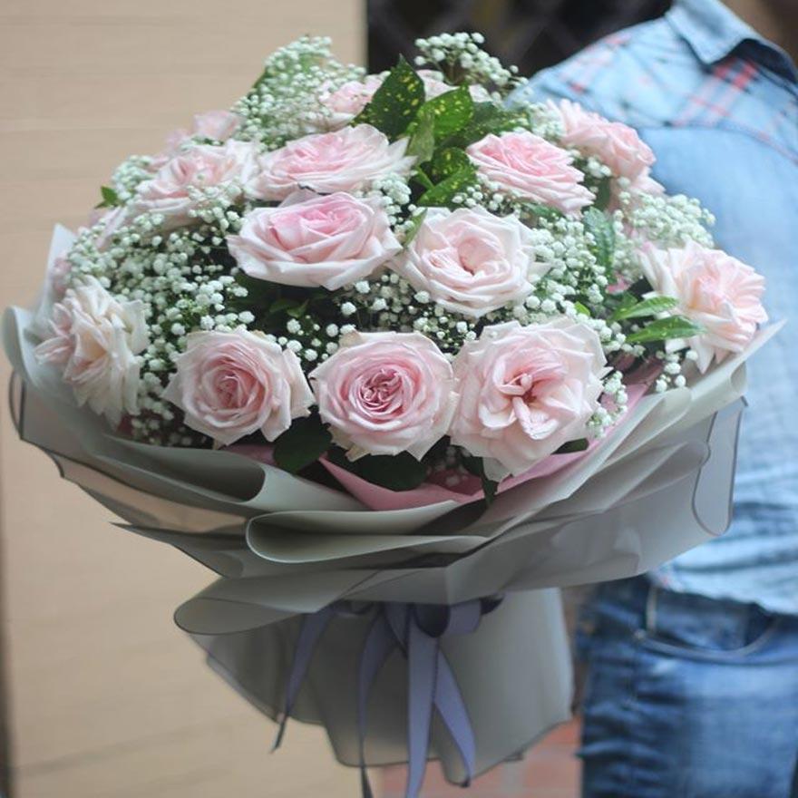 shop hoa tươi giá rẻ huyện hóc môn