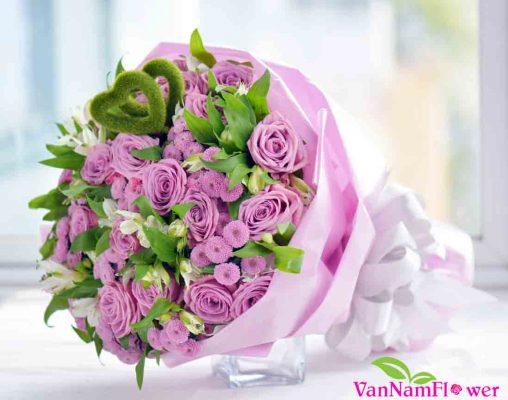ý nghĩa hoa hồng tím 1