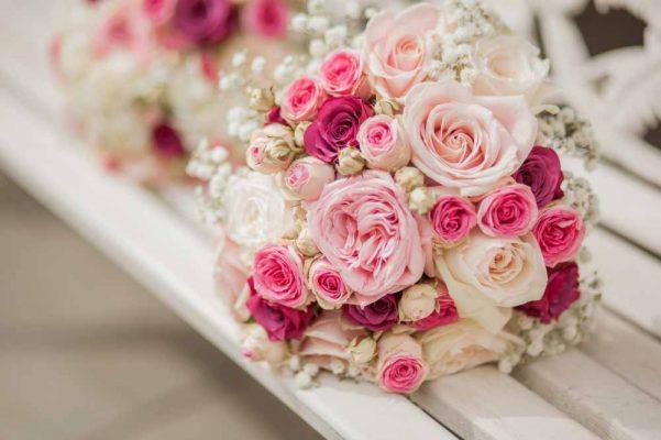 hoa cưới hoa hồng