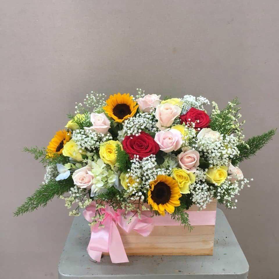 Hoa hướng dương tặng chồng