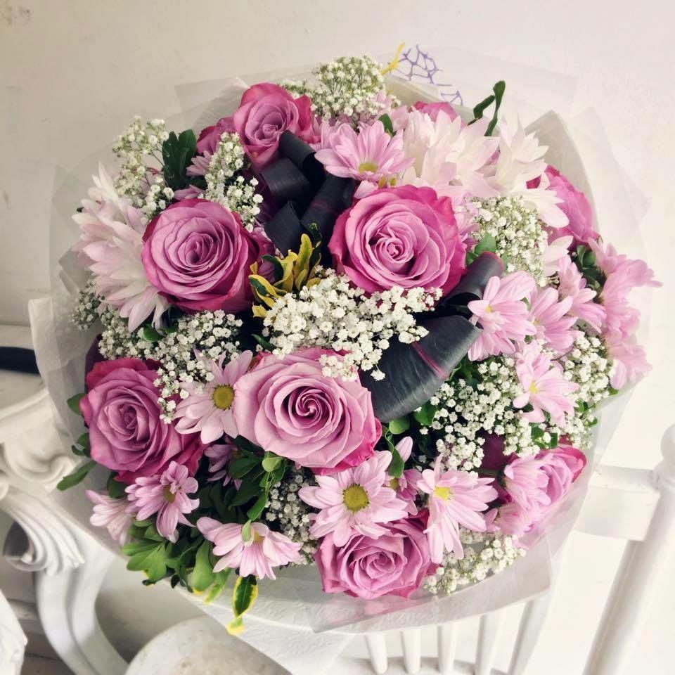 Hoa hồng tím tặng sinh nhật