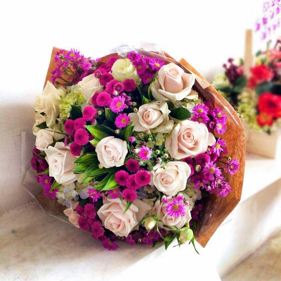Hoa hồng tặng chồng