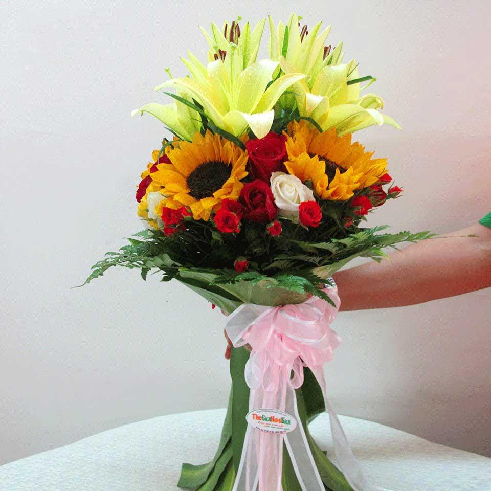 Hoa lily tặng chồng