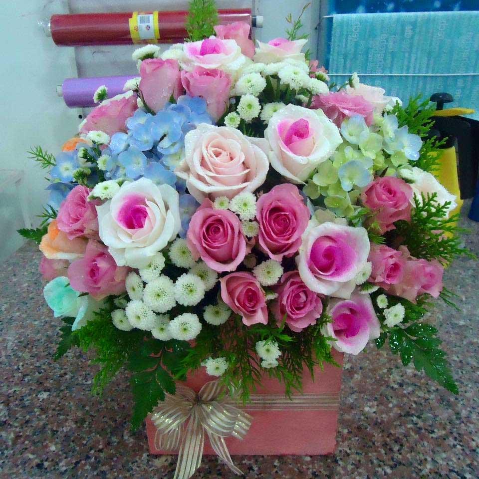 Hoa mừng thọ