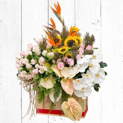 Tại sao lại chọn hoa tươi mừng tân gia